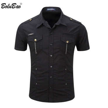 Fashion Military Style Shirt