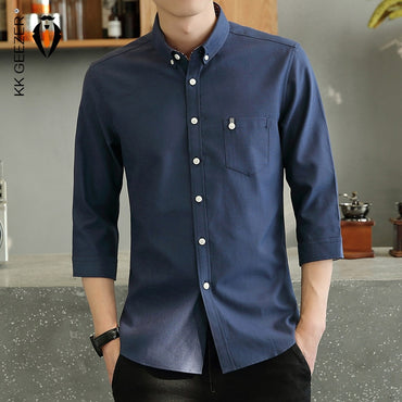 Casual Button Down Anti-wrinkle Dress Shirts