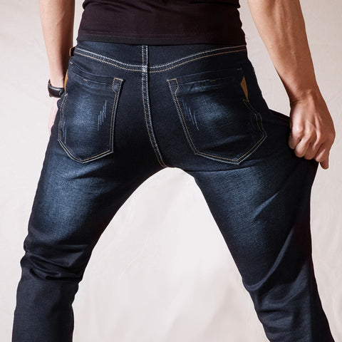 New Stretch Cotton Breathable And Comfortable Jeans