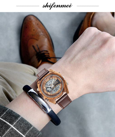 Luxury Dual Time Digital Watches