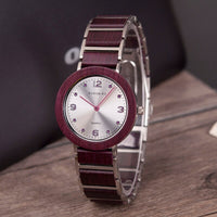 Waterproof Ultra-thin Quartz Wooden Watch