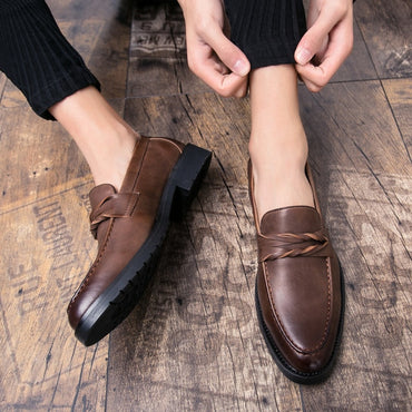 Fashion Pointed Toe Business Dress Shoes