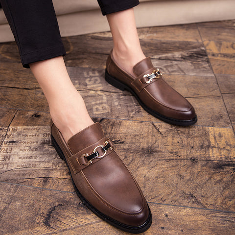 Formal Leather Oxford Shoes