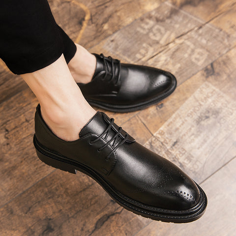 Casual Luxury British Style Oxford Shoes