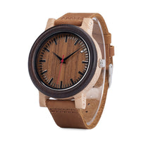 Leather Strap Quartz Wristwatches