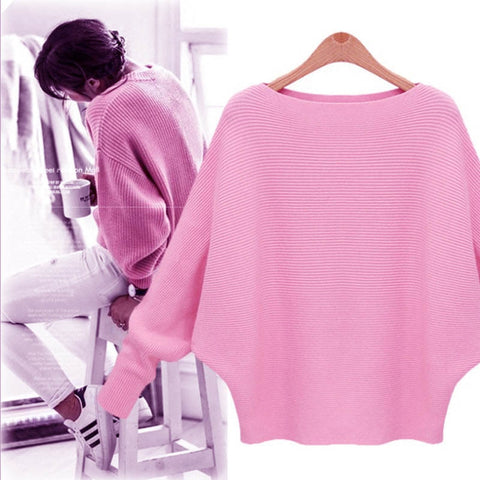 Thick Knitted Jumper Winter Casual Pullovers Sweaters