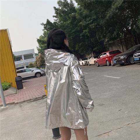 Loose Shiny Jacket