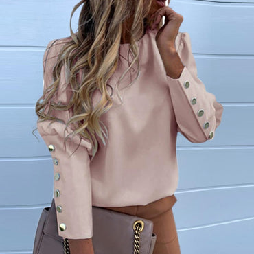 Puff Shoulder Blouse