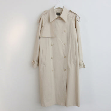 Double-breasted British Style Long Trench Coats