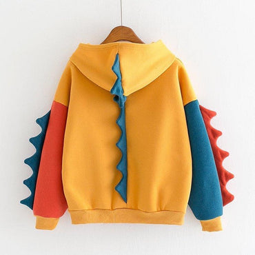 Patchwork Cute Harajuku Kawaii Hoodies