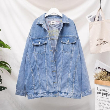 fashion embroidery denim jacket