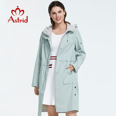 mid-length style trench coat