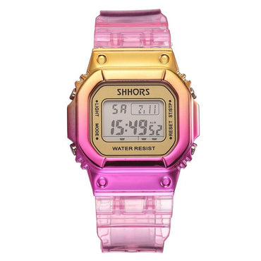 Rose Gold Digital Watch