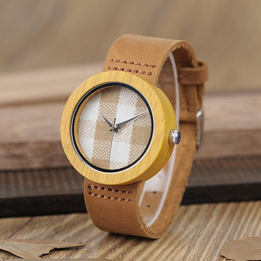 Promotion Wood Watch