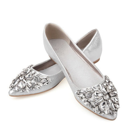 Shiny Crystal Ballet Shoes