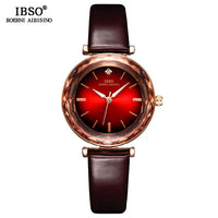 Cut Glass Design Wrist Watch