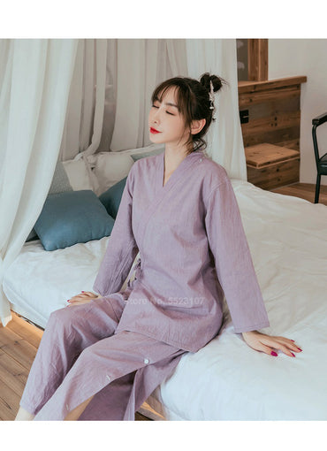 Pure Cotton Japanese Style Sleepwear Set