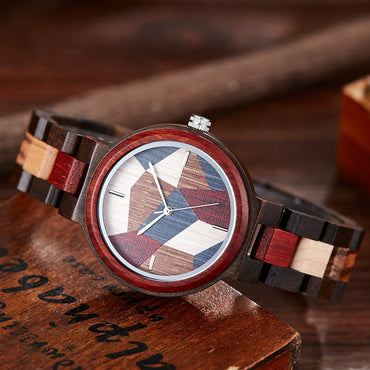 Elegant Colorful Wood Watches