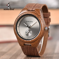 relogio Leather Band