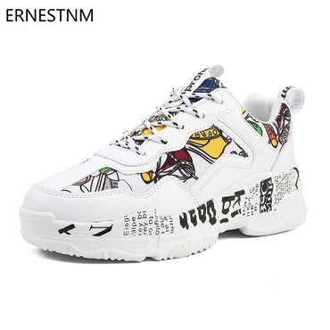 Graffiti Flats Vulcanized Shoes