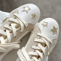 Star Casual Sports Small White Shoes