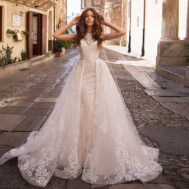 Lace Mermaid Wedding Dresses