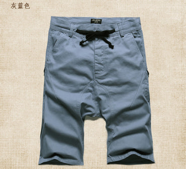 solid casual Short