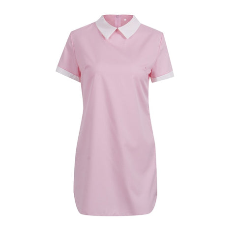 A-Line Short Sleeve dress
