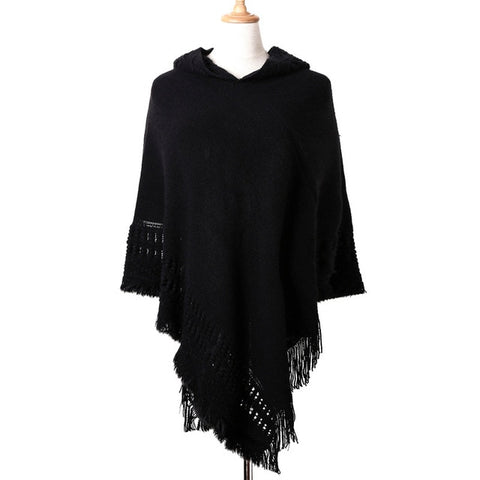Tassel Cape Coat