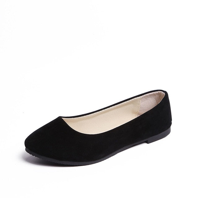 Slip on Boat Flat Shoes