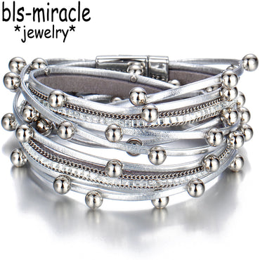 Fashion Multiple Layers Charm Bracelet