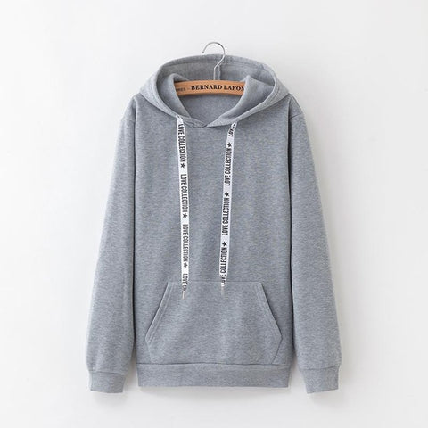 Long-sleeved Velvet Hoodies