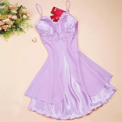 Fashion Sexy Lingerie Nightgown Casual Sleepwear