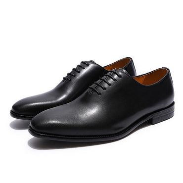 Luxury Brand Designer Genuine Leather Wholecut Oxford Shoes