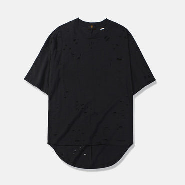 Irregular Hole hip hop  Tshirt