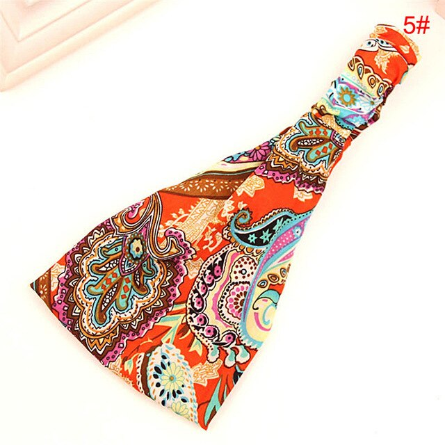 Multi-Color Flower Hairbands Accessories