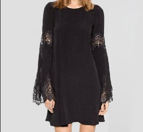 Lace Crochet Splice Dress