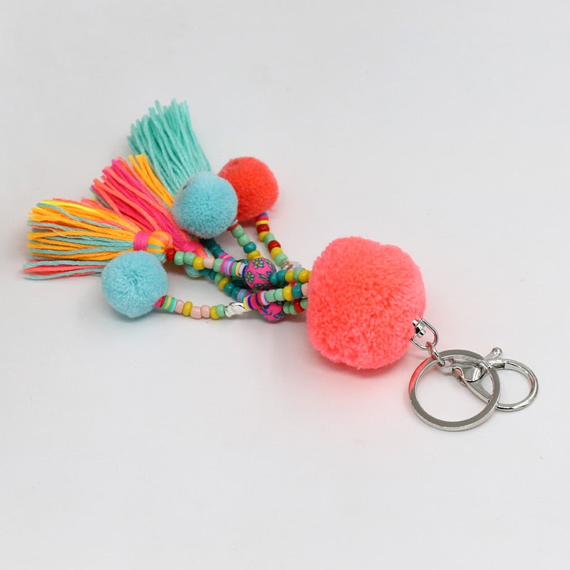 Jewelry Boho Keychain Accessorie