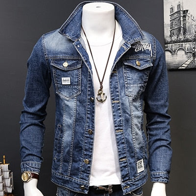 Fashion Cowboy Denim Jackets