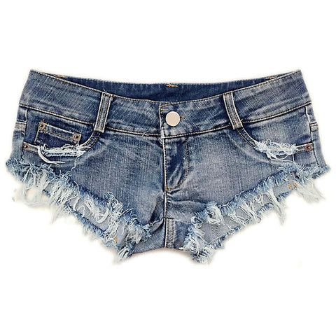 Sexy Mini Booty Short Denim