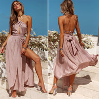 Halter Elegant Party Strapless Backless Dresses