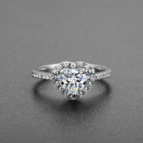 Crystal  Engagement Rings