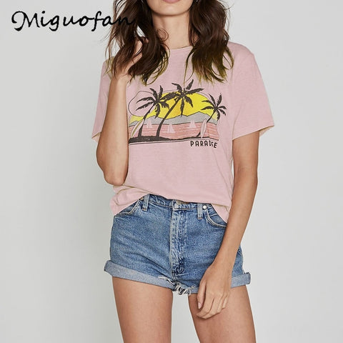 Boho Graphic print T-shirt Tops