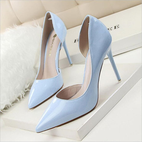 pointed toe classic thin heel