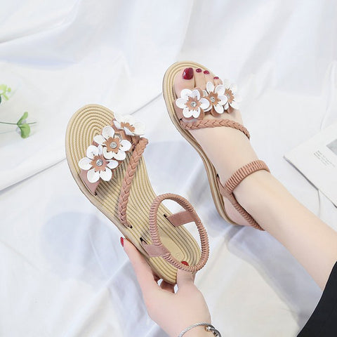 Elastic ankle strap Beach Sandals