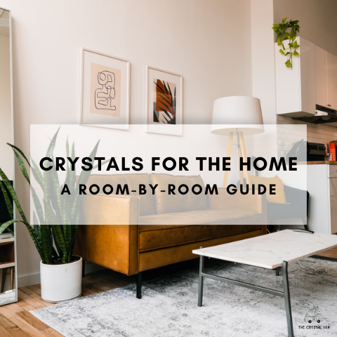 crystals for the home a room-by-room guide