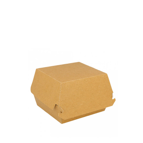 Burger-Box, Kraftpapier, 115x105x80mm, eco-nature, 300 Stk.