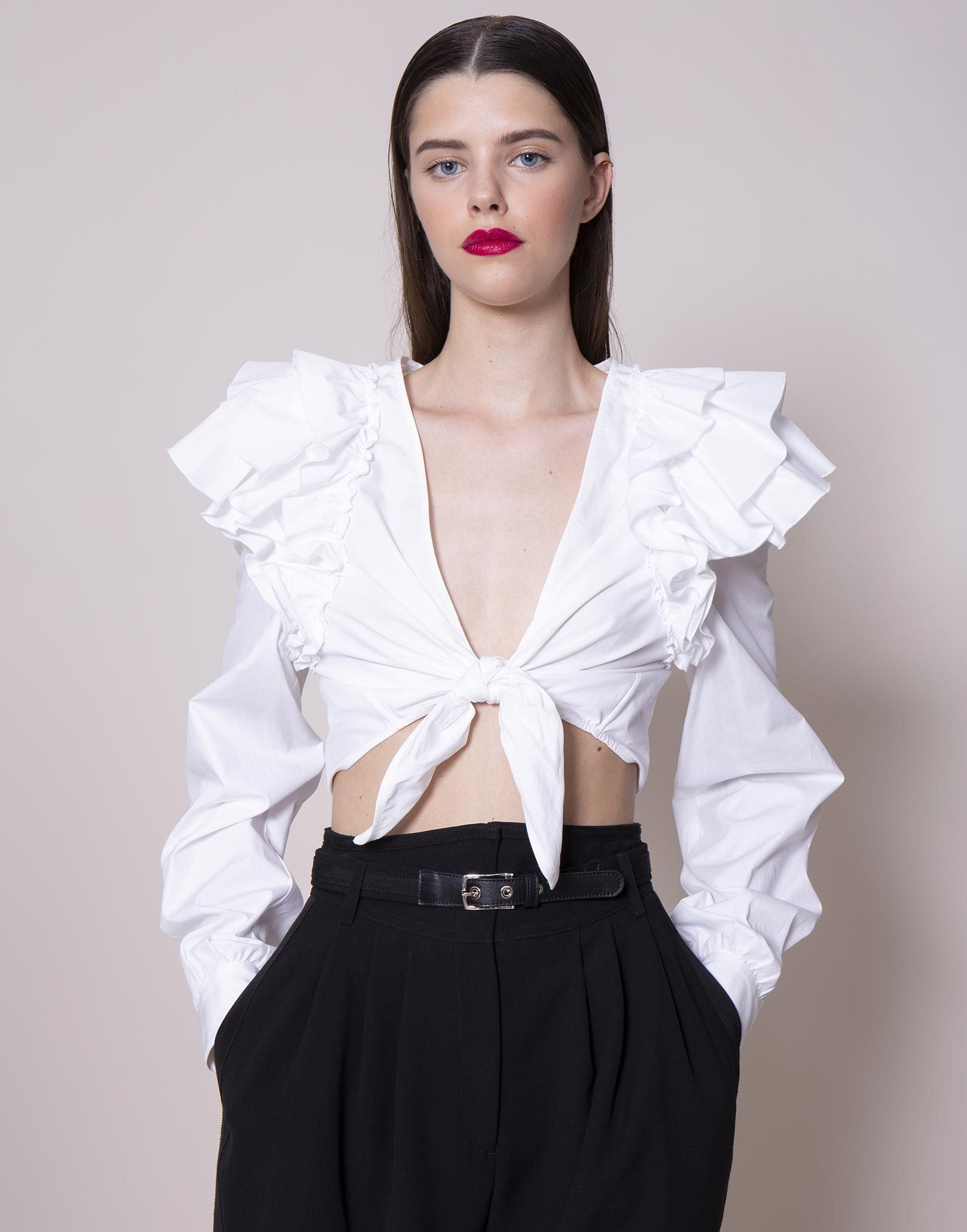 Ruffled shirt | NEW ARRIVALS