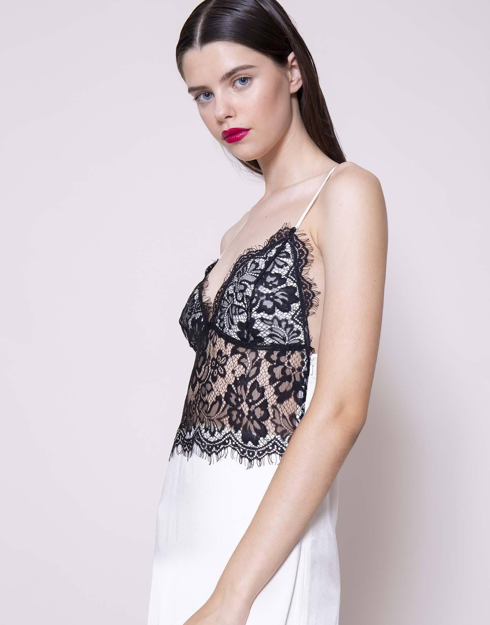 Cream lace slip dress | NEW ARRIVALS