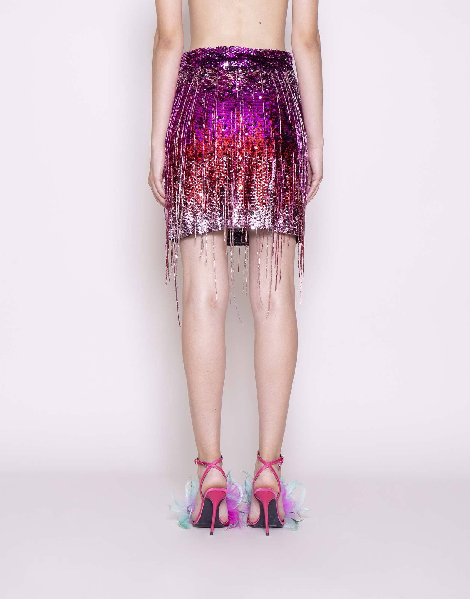 Fringed sequin skirt | NEW ARRIVALS